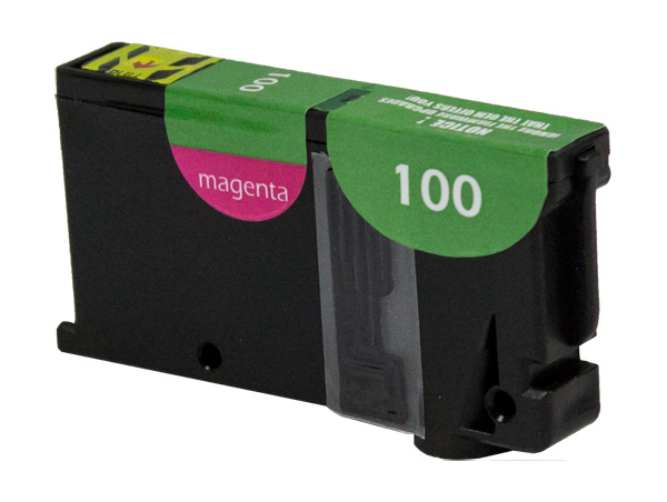 Premium Quality Magenta Inkjet compatible with the Lexmark (Lexmark #100XL) 14N1055
