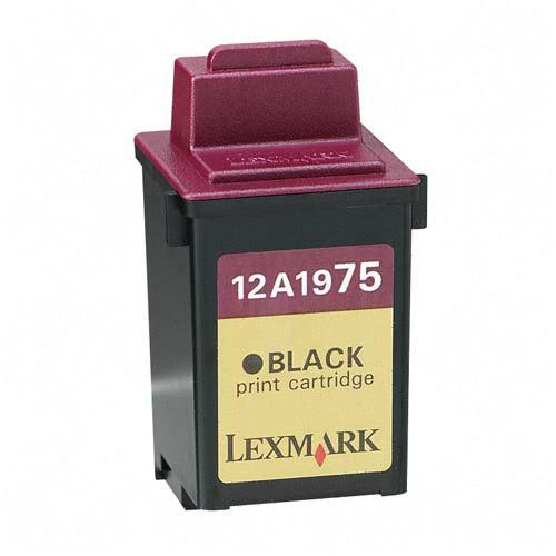 Premium Quality Black Inkjet Cartridge compatible with the Lexmark (Lexmark #75) 12A1975 (600 page yield)
