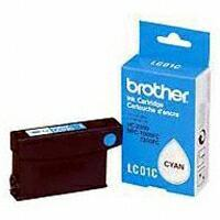 Genuine OEM Brother LC-01C Cyan Inkjet Cartridge (300 page yield)