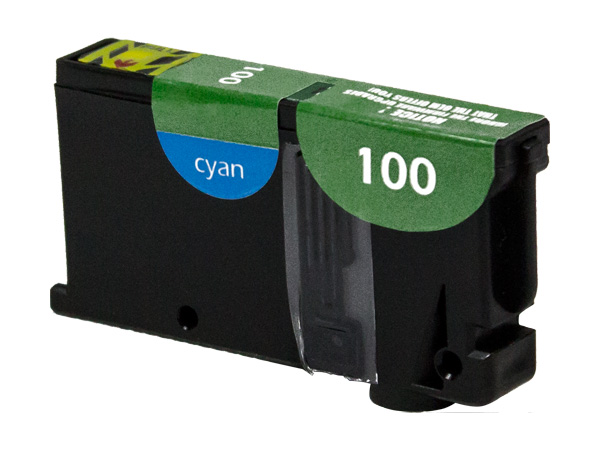 Premium Quality Cyan Inkjet compatible with the Lexmark (Lexmark #100XL) 14N1054