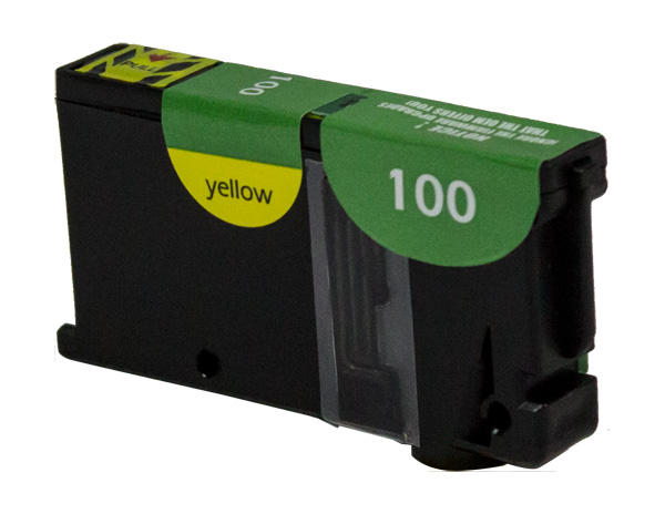 Premium Quality Yellow Inkjet compatible with the Kyocera Mita (Lexmark #100XL) 14N1056