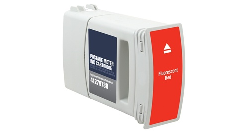 Premium Quality Red Inkjet Cartridge compatible with the Neopost 4127978B