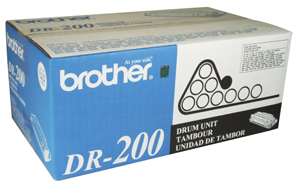 Genuine OEM Brother DR-200 Black Drum Cartridge (20000 page yield)