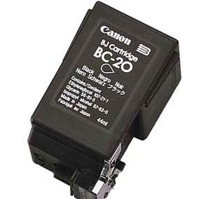 Premium Quality Black Inkjet Cartridge compatible with the Canon (BC-20) 0895A003AA (900 page yield)